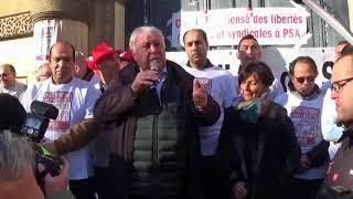 NON à la criminalisation des délégués CGT de PSA de POISSY
