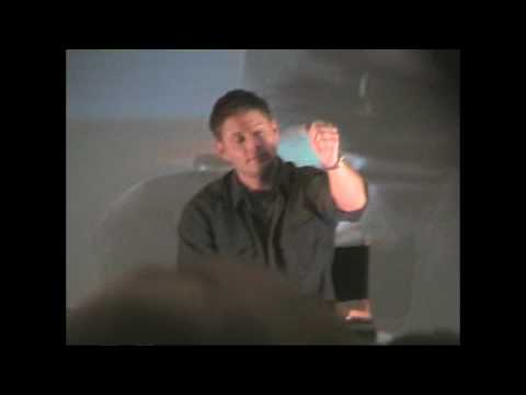 Jensen Ackles  Part 37  Kim MannersEvil Sam  Supernatural Con 09 LA