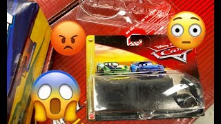 Disney Cars Toy Hunt - WHO STOLE These Disney Cars ?! Nascar Authentics Toy Hunt