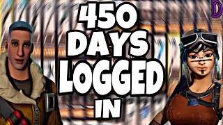 450 DAYS LOGGED INTO STW!!!| FULL ACCOUNT REVIEW | FORTNITE SAVE THE WORLD