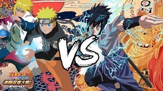 NARUTO SHIPPUDEN Clash of Ninja SPECIAL - Naruto & Minato vs Sasuke & Itachi (PC)