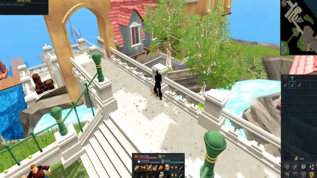 RuneScape New Tutorial Full Walkthrough/Voiceover ON!