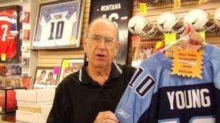 Card & Autograph Collecting : How to Tell if a Football Jersey Is Authentic