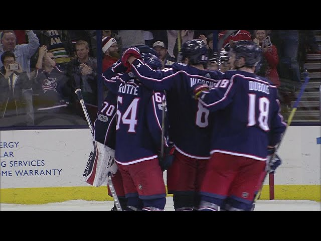 Panarin, Korpisalo lead Blue Jackets to SO win