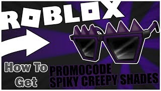 [PROMO CODE] HOW TO GET THE SPIKY CREEPY SHADES! [ROBLOX]