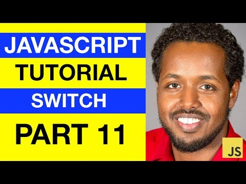 JavaScript - Switch Statement - Somali Beginner Tutorial Part 11