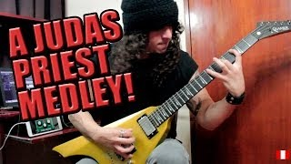 A Judas Priest guitar medley!!!