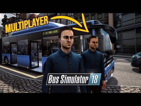 BUS SIMULATOR 18: Der beste MULTIPLAYER | BUS SIMULATOR 2018 Let's Play