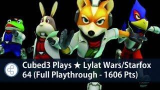 C3 Plays ★ Lylat Wars/Starfox 64 (Full Playthrough - 1606 Pts)