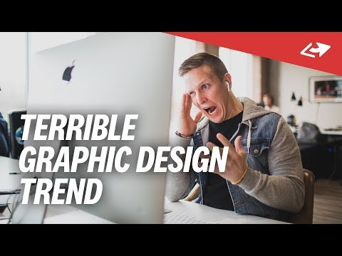 The Worst Current Graphic Design Trend (And Why I Love It So Much...)