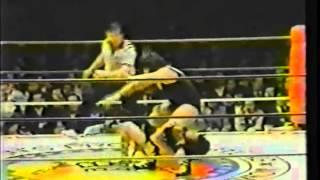 AJW 1982 WWWA Title Match Jaguar Yokota vs Monster Ripper.