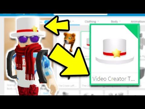 GETTING THE VIDEO CREATOR TOP HAT! *ROBLOX STAR PROGRAM*