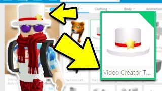 GETTING THE VIDEO CREATOR TOP HAT! *ROBLOX STAR PROGRAM*