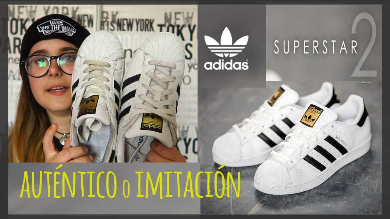 superstar adidas falsas