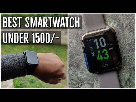 Best SmartWatch Under Rs. 1500 Blitzwolf BW-HL1 IP68 With Heart Rate Blood Pressure & Music Control