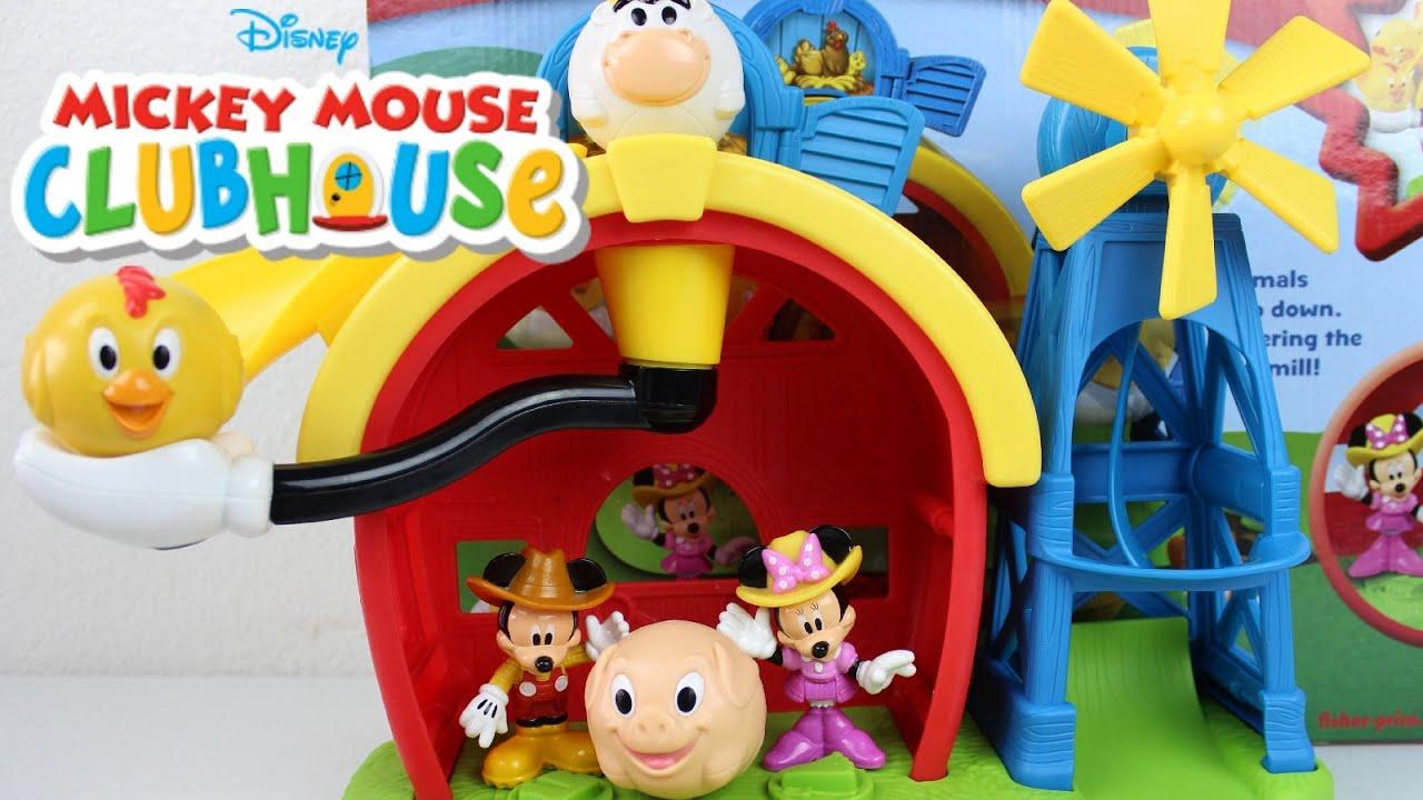 Juguetes de mickey mouse la casa de mickey mouse en - Youtube casa mickey mouse ...
