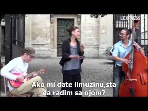 Zaz - Je Veux (Serbian Translation)