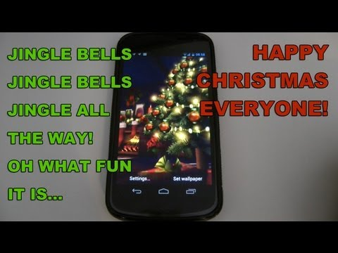 Christmas HD Live Wallpaper App For Android