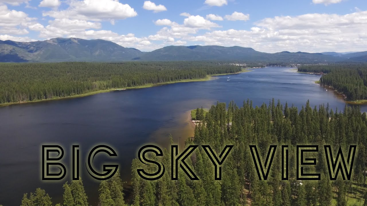 Upper Seeley Lake Montana The View From 4400 Feet