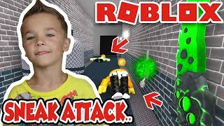 SNEAK ATTACK auf DAD! in ROBLOX MURDER MYSTERY 2 | DADDY HAVING A BAD DAY