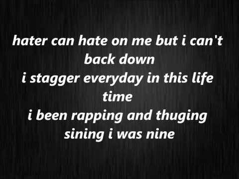 karen hip hop - you can't back down lyrics 2014