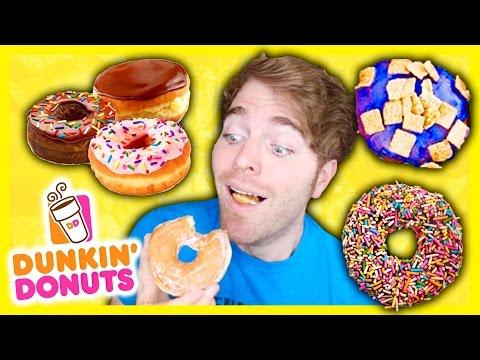 TASTING DUNKIN' DONUTS