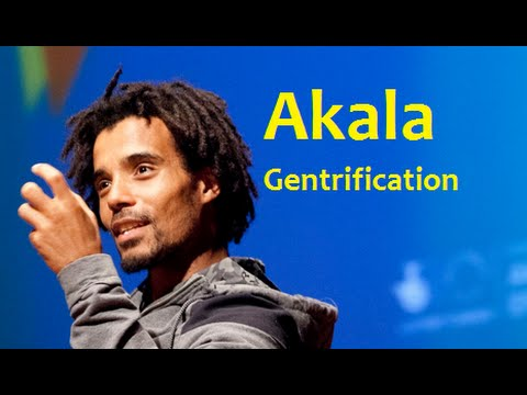 Rapper Akala- white middle class, London Gentrification, Rich People & Immigration control