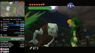 Ocarina of Time 100% Speedrun in 4:08:57