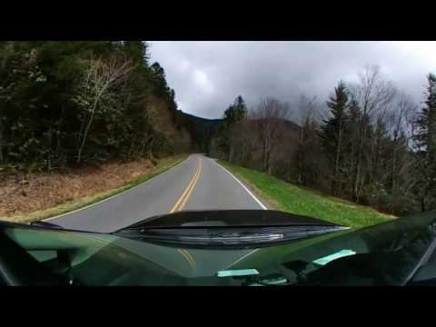 Blue Ridge Parkway and climbing Mount Mitchell 360° VR