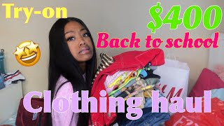 HUGE BACK TO SCHOOL TRY-ON HAUL !! /nadula hair