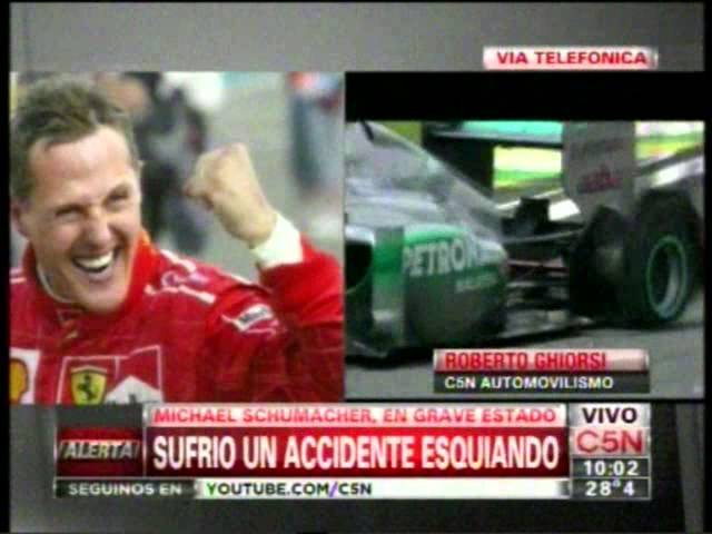 Michael Schumacher, grave tras sufrir un accidente de esquí Videos De Viajes