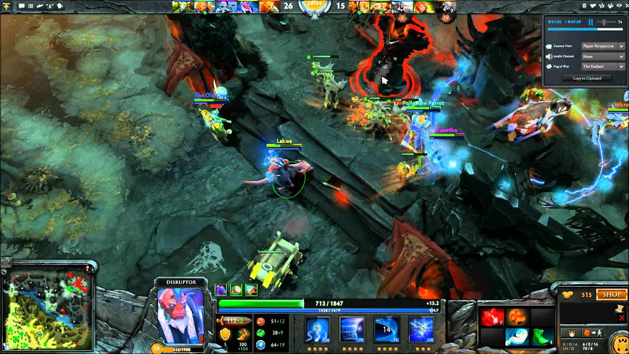let s get owned in dota 2 disruptor 01 youtube