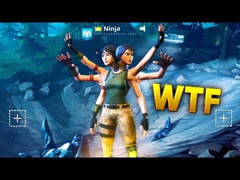 CRAZY PLAYER LOBBY GLITCH WTF..!!! | Fortnite Funny and Best Moments Ep (Fortnite Battle Royale)