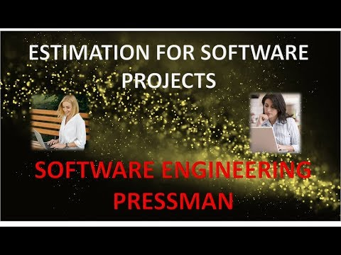 Chapter Estimation For Software Projects Se Pressman In Hindi