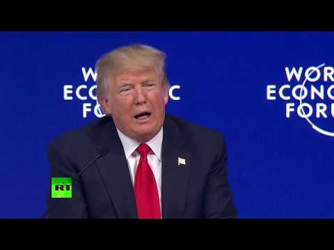 'How nasty, vicious & fake media can be': Trump wooed at Davos World Economic Forum