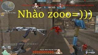 [ Bình Luận CF ] AK47-Transformer, Búa Sắt-Chill - Tiền Zombie v4