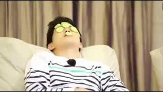 [ENG SUB] 151030 EXO Sehun giving Suho beauty treatment