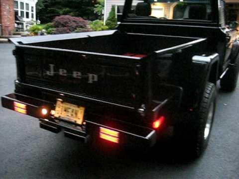 Truck Sound System >> 1MEANJ 1970 jeep gladiator - YouTube