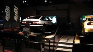 Game | Initial D arcade game with real cars at Sega Joypolis Tokyo | Initial D arcade game with real cars at Sega Joypolis Tokyo