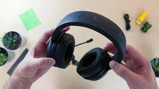 Kraken X Multi Platform Wired Gaming Headset unboxing