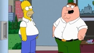Family Guy & The Simpsons Uniting For Hour Long Episode