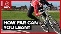 Searching For The Limits Of Cornering A Road Bike | GCN Doesn't Do Science