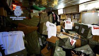 Detenidas 7 personas e incautados 200 artículos falsificados en Maspalomas