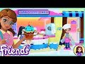Lego Friends Olivia's Cupcake Cafe Build Review Silly Play - Kids Toys