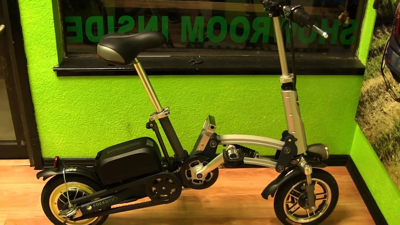 freebird mini folding e bike youtube. Black Bedroom Furniture Sets. Home Design Ideas