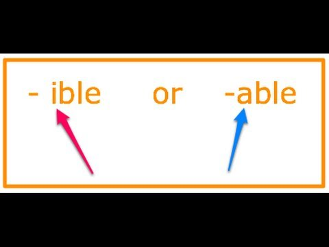 how-to-spell:--ible-&--able-words