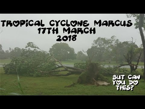 Tropical Cyclone Marcus 17th March 2018
