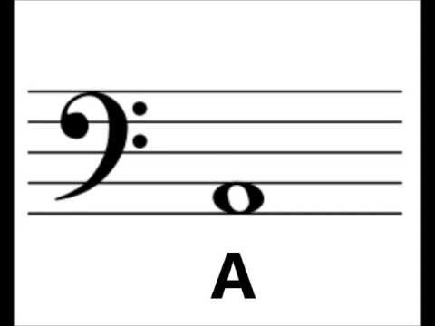 Bass Clef Note Identification exercise--learn your notes!