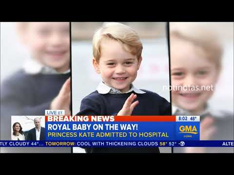 Kate Middleton  Gives Birth to a Boy