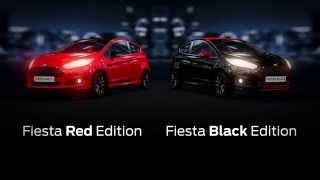 Красное или Черное: Блистательные краски новой Ford Fiesta
